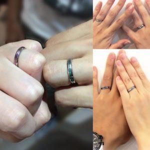 金属アレルギーにならない結婚指輪